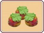 Пирожное «Персик со сгущёнкой»