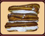 Пирожное «Эклер со сливками»